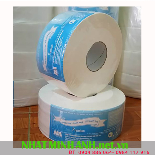 Giấy vệ sinh cuộn lớn 800g