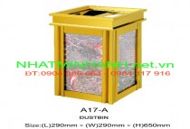Thùng rác đá hoa cương A17-A
