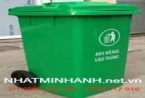 Thùng rác nhựa 240L-9E