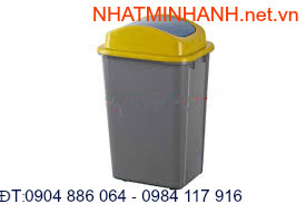 Thùng rác nhựa 30L-A