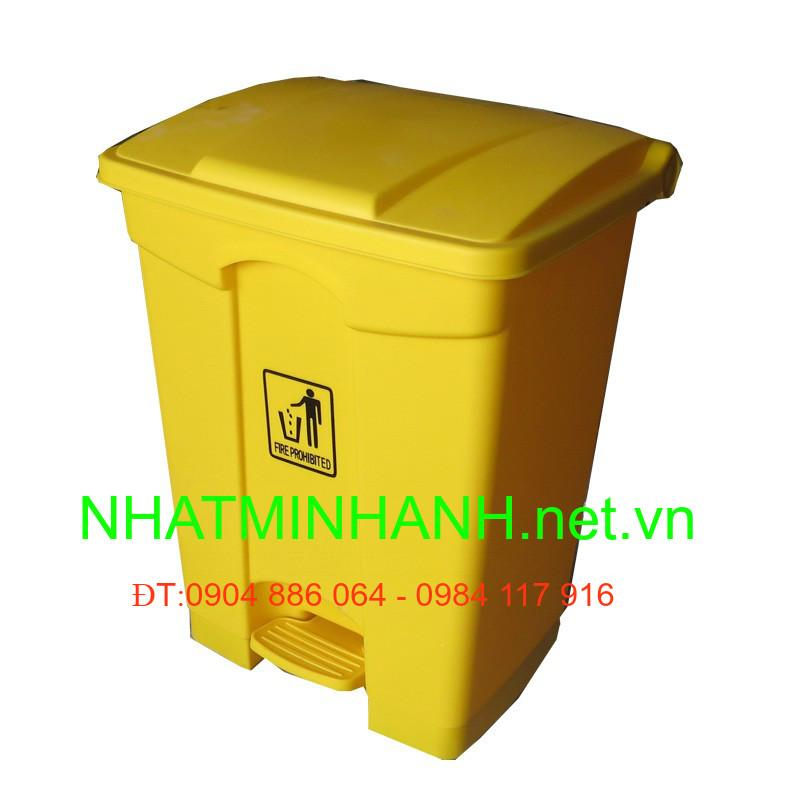 Thùng rác nhựa đạp chân 30L, 45L, 68L