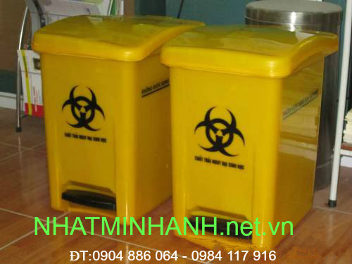 Thùng rác nhựa y tế 30L