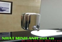 Hộp đựng nước rửa tay inox bóng YG800