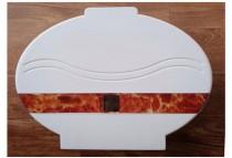 Hộp đựng giấy vệ sinh cuộn lớn nhựa ABS A519
