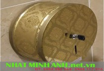 Hộp đựng giấy vệ sinh cuộn lớn inox C723