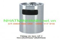 Thùng rác inox AP-2