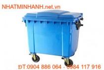 Thùng rác nhựa 1100L-A
