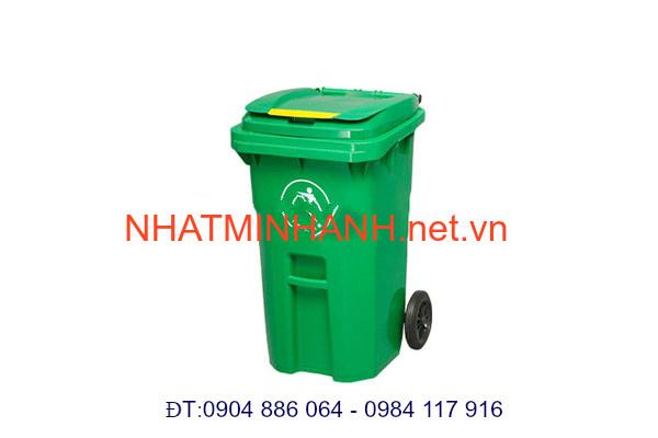 Thùng rác nhựa 240L - 9C
