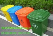 Thùng rác nhựa 60 lít HDPE
