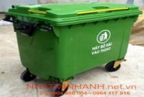 Thùng rác nhựa 660 lít HDPE