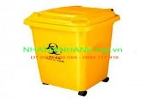 Thùng rác nhựa y tế 50L