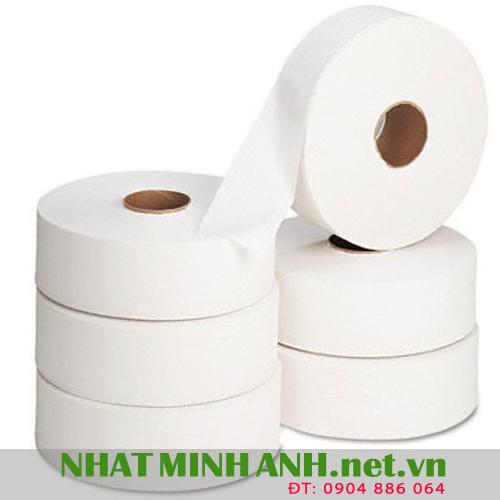 Giấy vệ sinh công nghiệp cuộn lớn