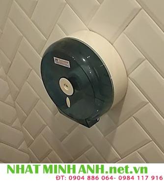 Hộp đựng giấy vệ sinh cuộn lớn nhựa ABS B608