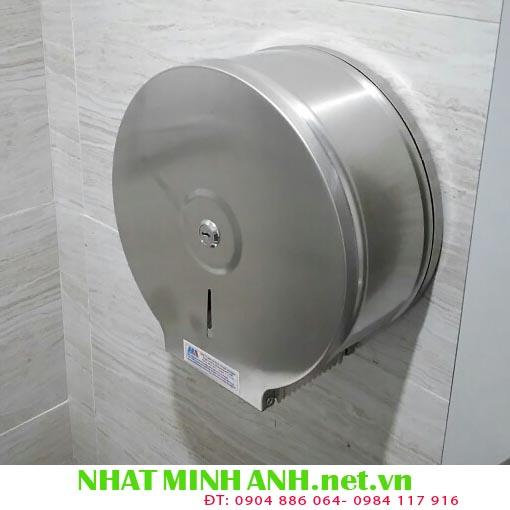 Hộp đựng giấy vệ sinh cuộn lớn inox A723
