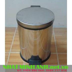Thùng rác inox đạp chân 12L - 71112